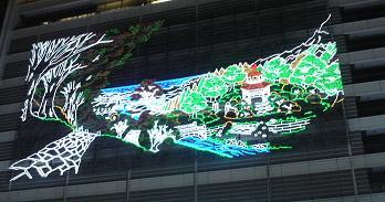 名駅イルミ・夏