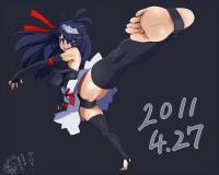 一ヵ月チャレンジ 4月27日 動きのある絵シリーズのつもり! 1