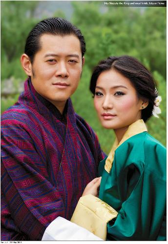 ブータン国王夫妻