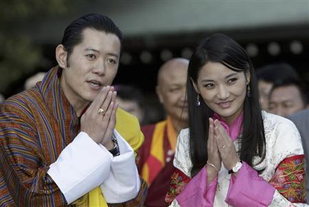 ブータン国王ご夫妻来日
