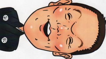i笑人の似顔絵 - コピー