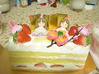 10'お雛まつりケーキ♪