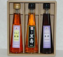 りんご黒酢・黒寿・ビルベリー_200ml×3本セット