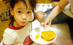 初めてのマンゴー♪@姫