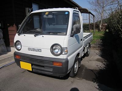 スズキキャリー(suzuki carry)軽トラ4WD車