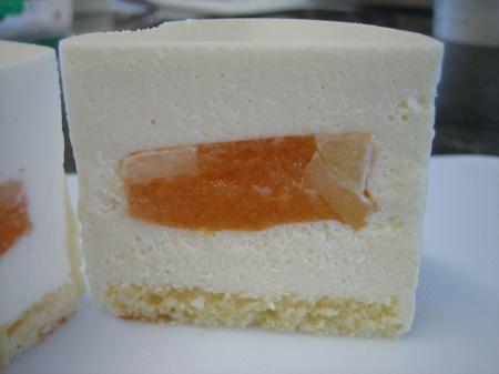 レアチーズ(りんご)