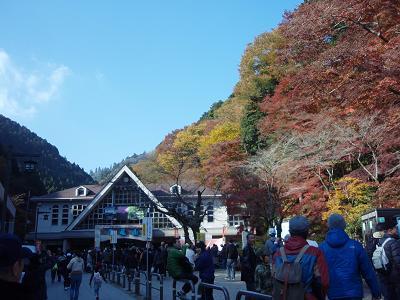 高尾山の紅葉2