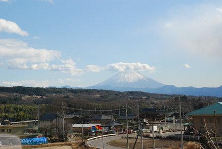 帰路の富士山23