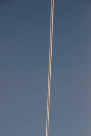 飛行機雲2の1