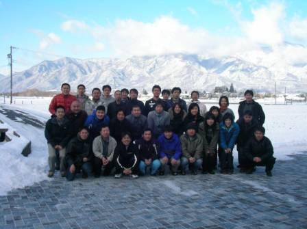 信大基礎スキー部 2010.2.7