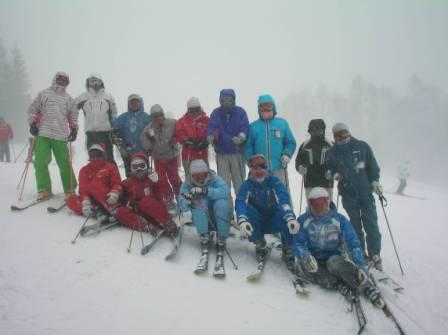 信大基礎スキー部 2010.2.6