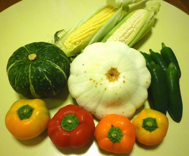 北海道で買ってきた野菜(2011年夏)