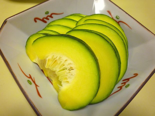 鈴南瓜の生食