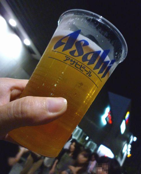 ゼップ名古屋で、『ツアーエチケット』終了後(2011年9月)