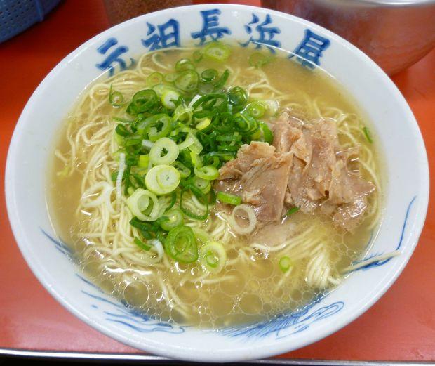 『元祖 長浜屋』ラーメン(400円)