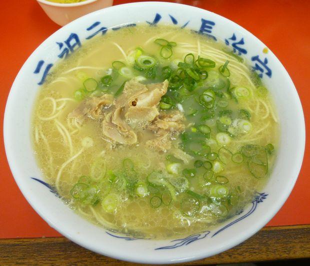『元祖ラーメン 長浜家』ラーメン(400円)