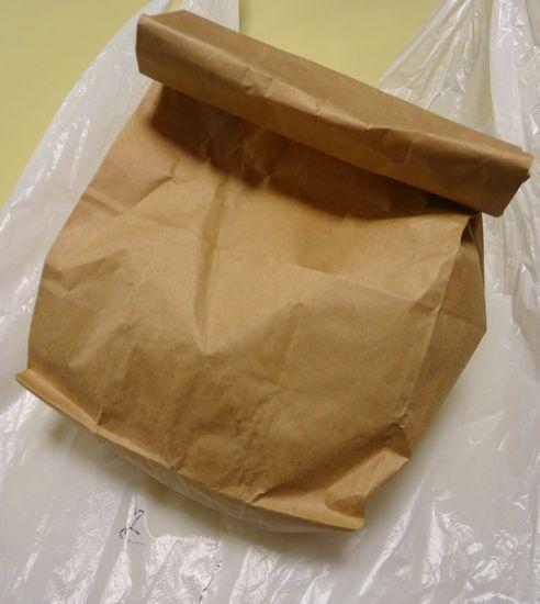 『珍味亭』持ち帰りの袋