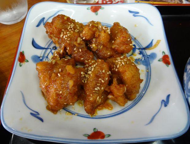 『一圓 上石神井店』鶏肉の南蛮漬け(350円)