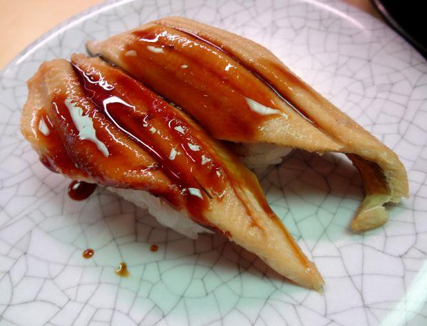 『天下寿司 吉祥寺店』穴子(120円)