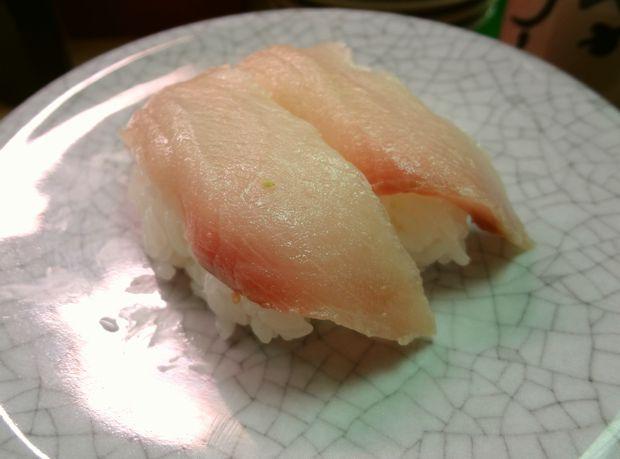 『天下寿司 吉祥寺店』ハマチ