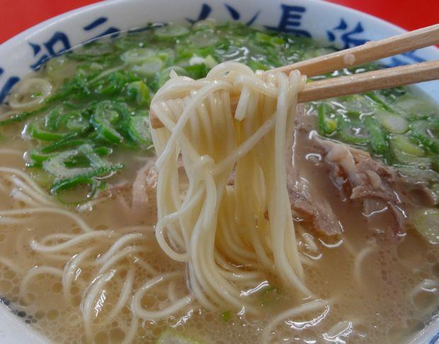 『元祖 長浜家(通称:家2)』ラーメン(麺リフト)