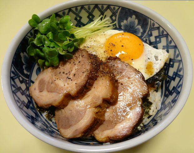 今治焼豚玉子飯インスパイア(自作・2012年冬)