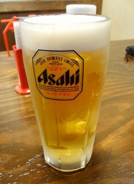 『みっちゃん総本店』生中(?円)