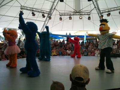 Sesame St Stage