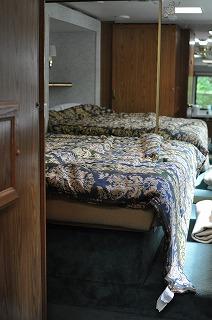 トレーラー寝室