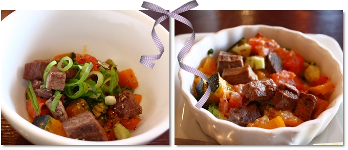 馬肉とお野菜ノオーブン焼き