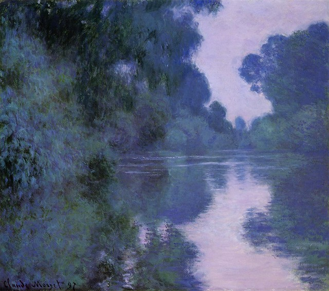 モネ ジヴェルニー近郊のセーヌ川