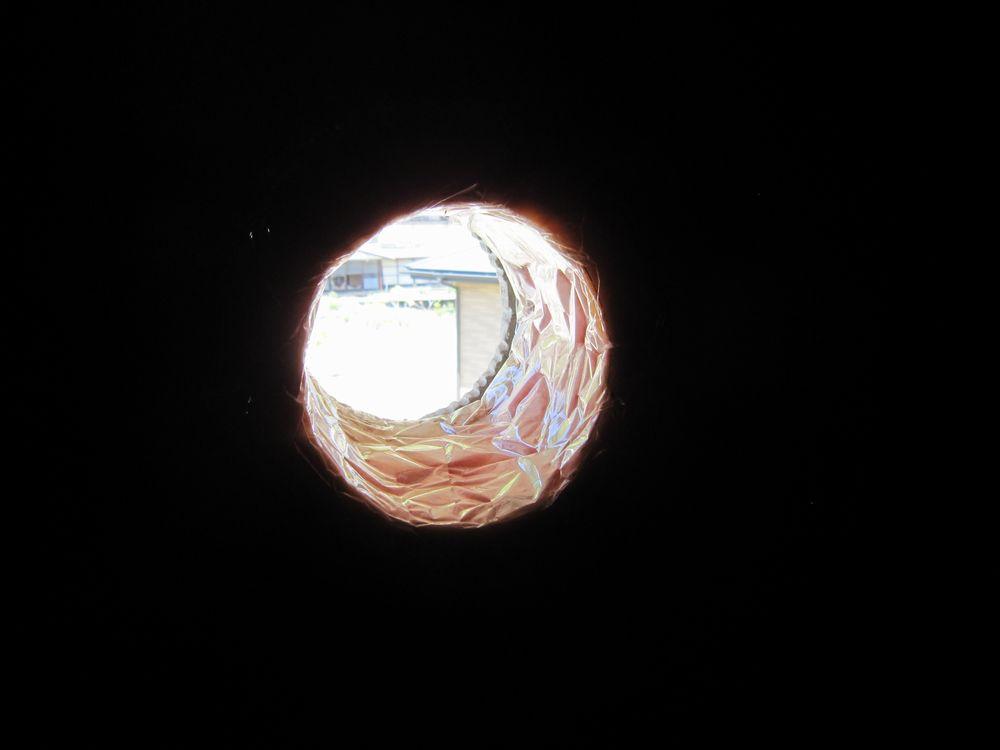 6・外壁穴あけ2