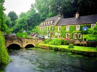 イギリス田舎の風景