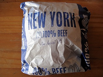 第2弾 New York Burger が本日より期間限定販売開始