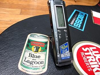 動画を撮影する前に、IC レコーダーで録音