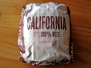 第3弾 California Burger