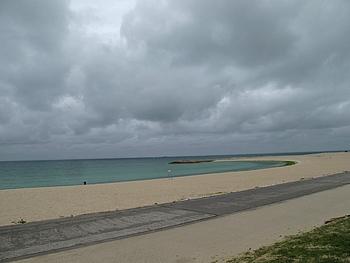 海の色が綺麗でした