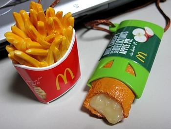 FOOD STRAP マックフライポテト と ホットアップルパイ
