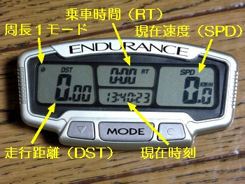 TRAIL TECH ENDURANCE 画面1