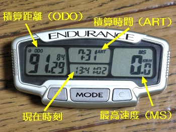 TRAIL TECH ENDURANCE 画面2