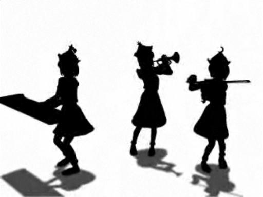 400万再生おめでとう!【東方】Bad Apple!! PV【影絵】