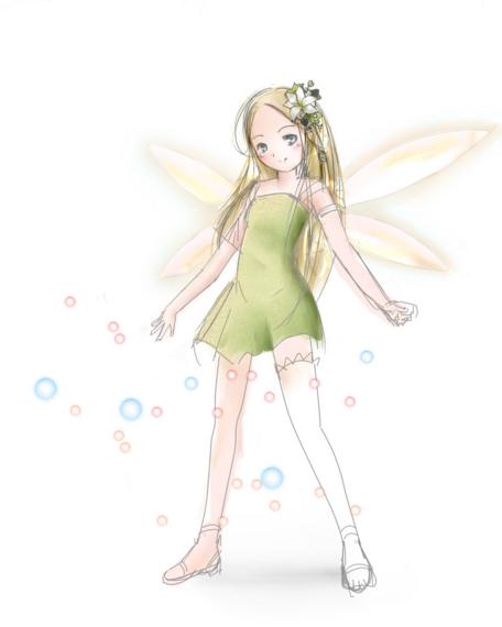 妖精さん(途中)