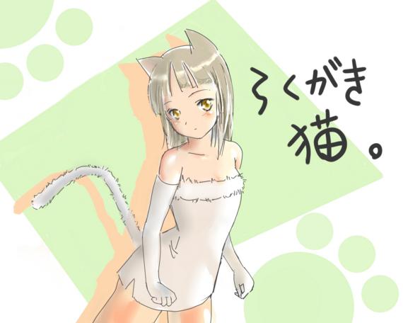 らくがき猫