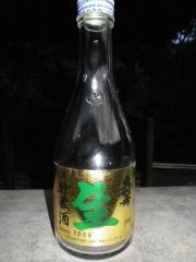 手酌酒20100718