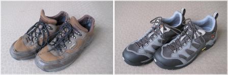 靴買い替え