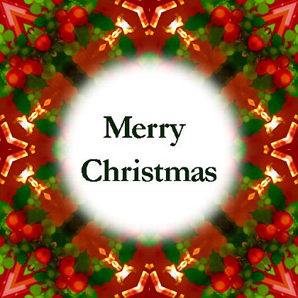 I wish you a very Merry Christmas