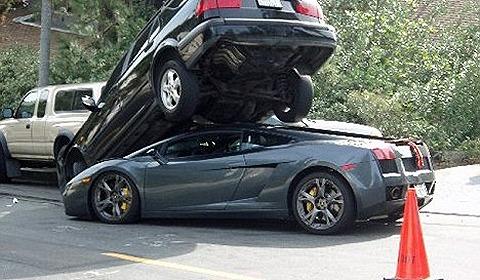 Real Life Batman Car Crash