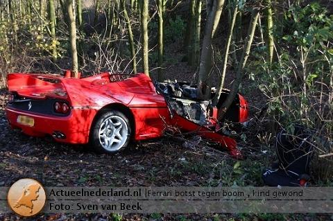 フェラーリ限定車の事故2連発 クラッシュしたスーパーカーの画像100 Naver まとめ