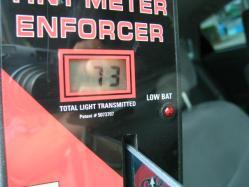 30プリウス運転席可視光線透過率