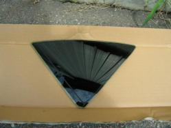 マークX三角窓